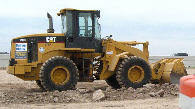 A 938-G Caterpillar front end loader, just like this one, was stolen from a project site in Spokane Valley sometime over Memorial Day Weekend
