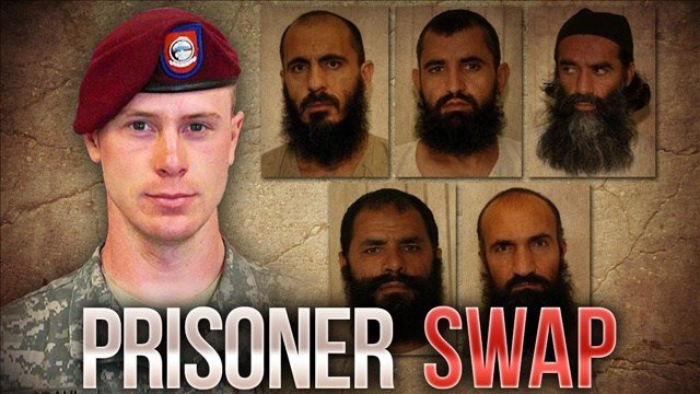 Bergdahl was released over the weekend, in exchange for five terror suspects who had been held at the detention center in Guantanamo Bay, Cuba. They're now in Qatar.