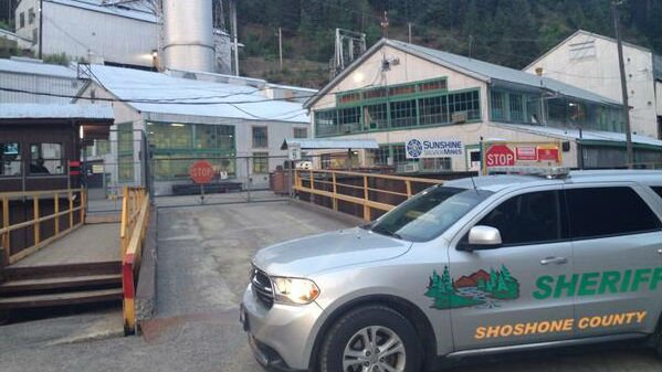One person was killed at the Sunshine Mine in between Kellogg and Wallace Monday afternoon.