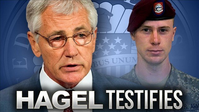 """Defense Secretary Chuck Hagel is telling Congress that Qatar officials negotiating the release of captured Army Sgt. Bowe Bergdahl told the U.S. that """"time was not on our side"""" and a leak about the exchange would end the deal."""