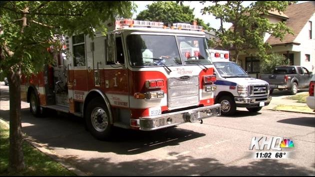 Firefighters delivered a baby in west Spokane on Wednesday