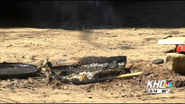 A person was shot at a campsite in Shoshone County