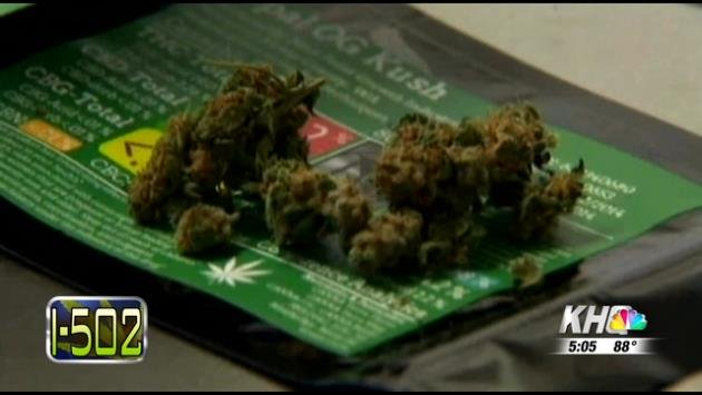 Legalized marijuana will be sold in Washington beginning this week