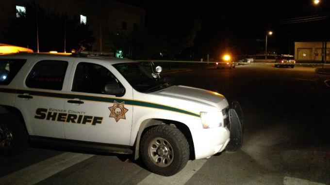 Heavy police presence near Bonner General Hospital