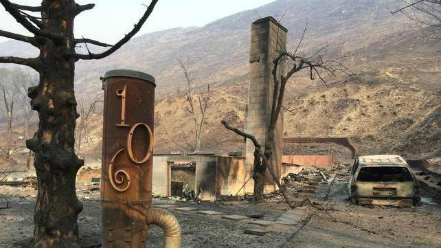 Many homes in Pateros burned Thursday night and Friday morning
