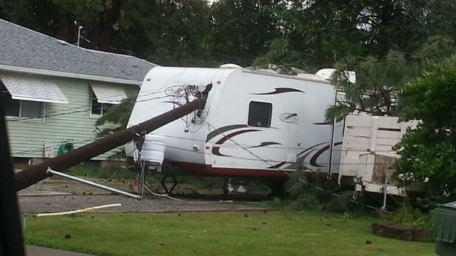 Storms caused major damage throughout the Inland Northwest on Wednesday
