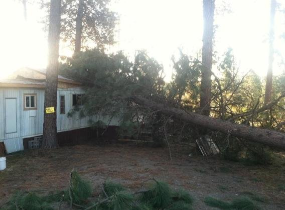 Riverside Community Struggling To Recover After Severe Wind Stor