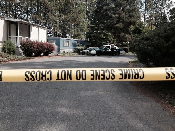 Body found at Mullan Hill Terrace mobile home park at 8900 S Mullen Hill Rd. in Spokane