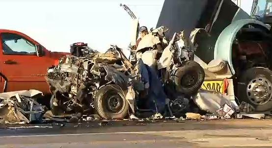 ... truck driver of negligent homicide in a fatal crash in North Dakota