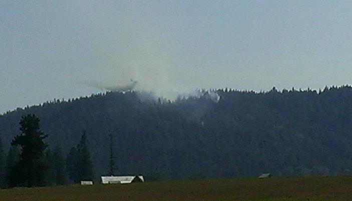 Springdale brushfire