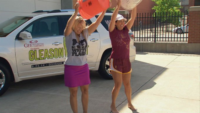 KHQ's Stephanie Vigil and Jen Petruso take the Ice Bucket Challenge