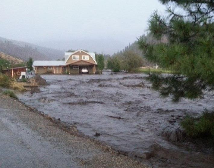 Benson Creek Flooding