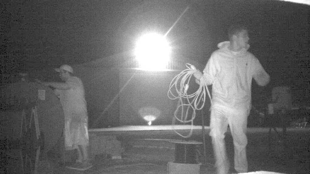 Two men caught on video stealing gas from a Moses Lake area farm