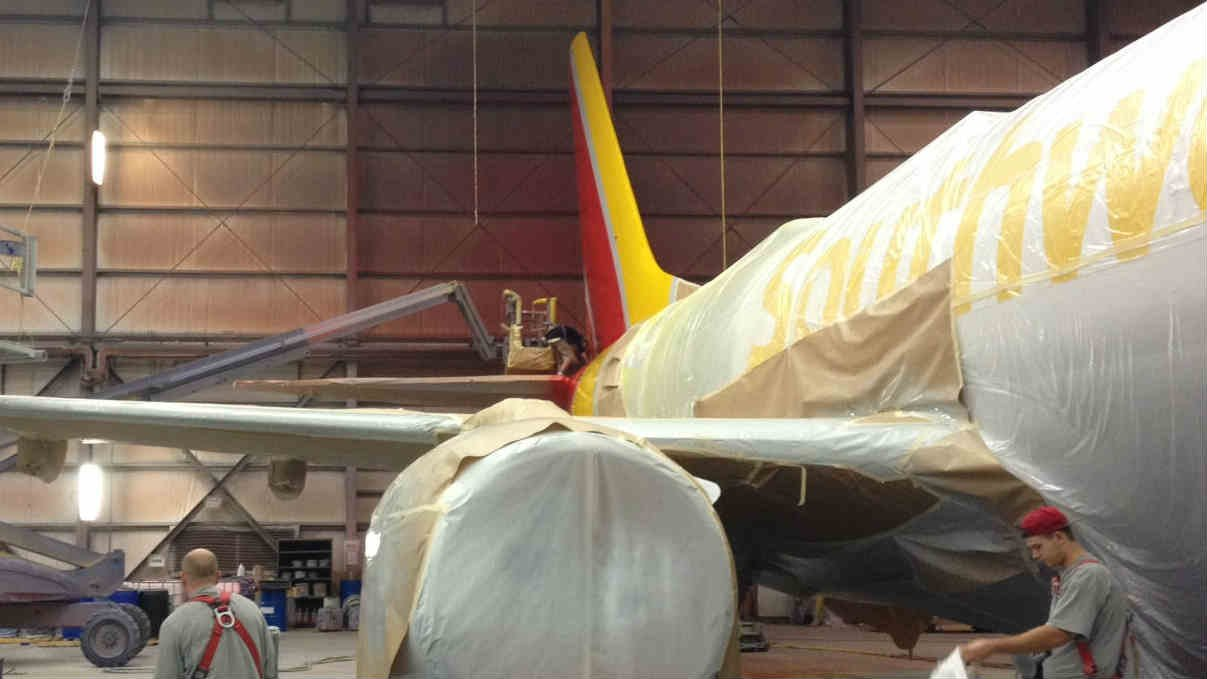 Plane Painting Creates Jobs