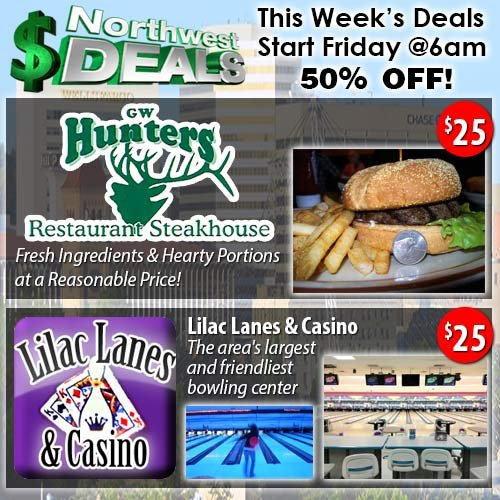 KHQ NW Deals: Save 50% Off Select Partners!
