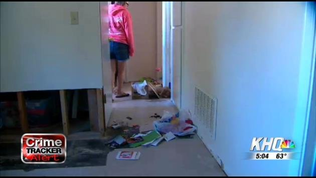 The smell of rotten food was the first thing Tressa Smith noticed when she got home from a nearly two week out of state trip on Monday.