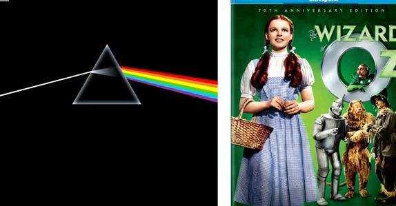 Pink Floyd and the Wizard of Oz syncing... Spooky coincidence?