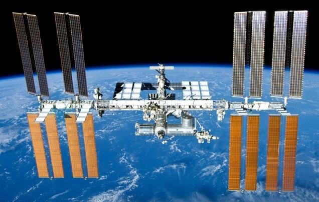 PHOTO: International Space Station after undocking of STS-132, Photo Credit: NASA, Photo Date: May 2010