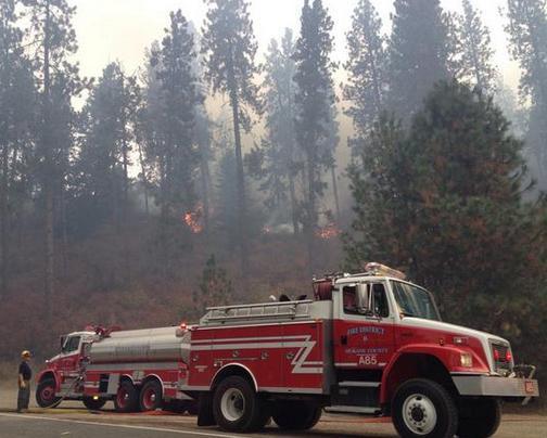 DNR Crews respond to 2-3 acre fire