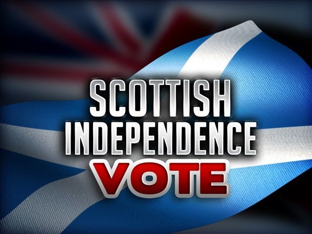 Scottish people vote to remain part of UK or choose independence