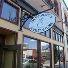 Finders Keepers Jewelry Closes its doors