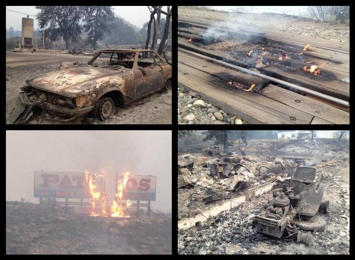 FEMA denies individual assistance to wildfire areas