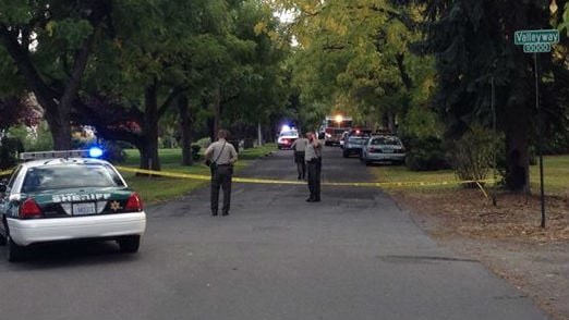 Deputies investigating a shooting call in Spokane Valley near Valleyway and Walnut