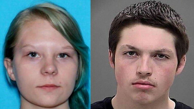 Detectives in Okanogan County are questioning 16-year-old Shalin Alltus (left) and 16-year-old Parker Bachtold (right) in connection to the homicide of Patrick Alltus.
