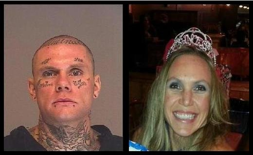 Former Deputy Prosecutor Marriya Wright (Right) is accused of Rendering Criminal Assistance to Matthew Baumrucker (Left) while he was hiding from police.