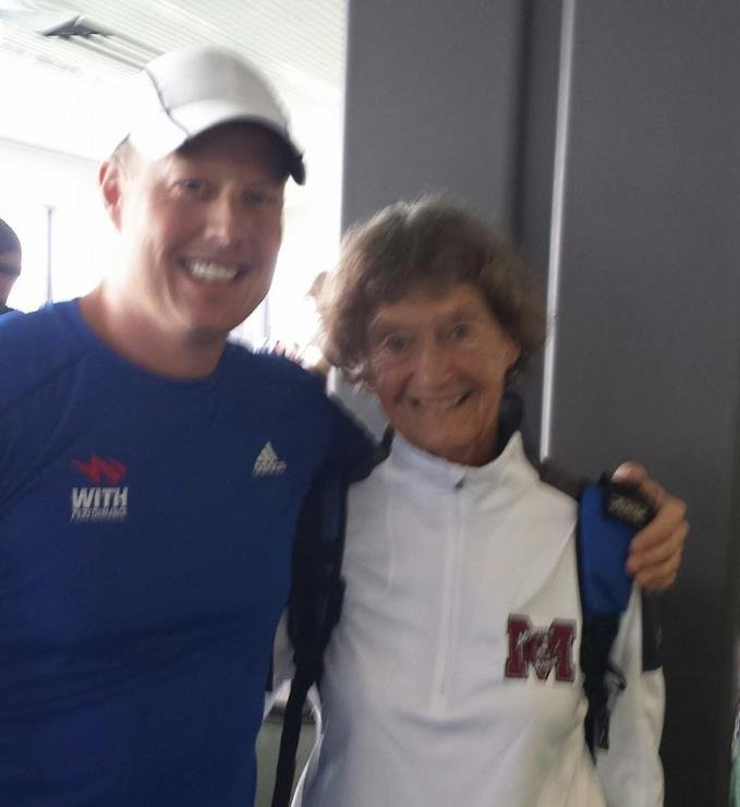 """Met sister Madonna at Seatac on the way to Kona : )"" - KHQ Facebook friend, Jason Putney"