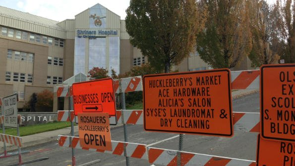 The replacement of a water pipe from 1896 has two Spokane hospitals taking extra precautions while the City tests the water quality.