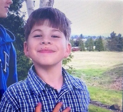 Police are looking for Andrey Voronenko, 9, who was taken by his father