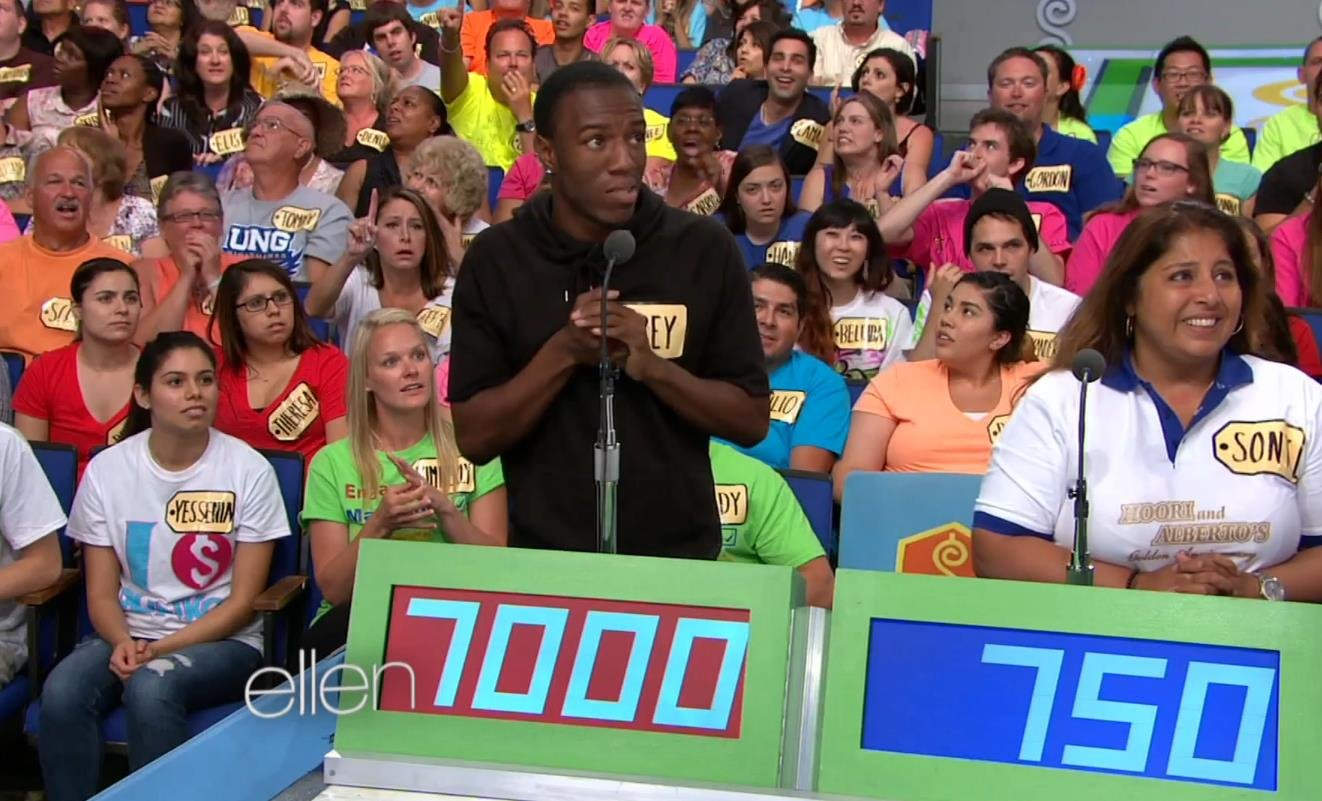 Corey Sims went on the Price Is Right and bid $7,000 for a hammock worth only $880. Ellen Degeneres let him come on her show to explain exactly what he was thinking.