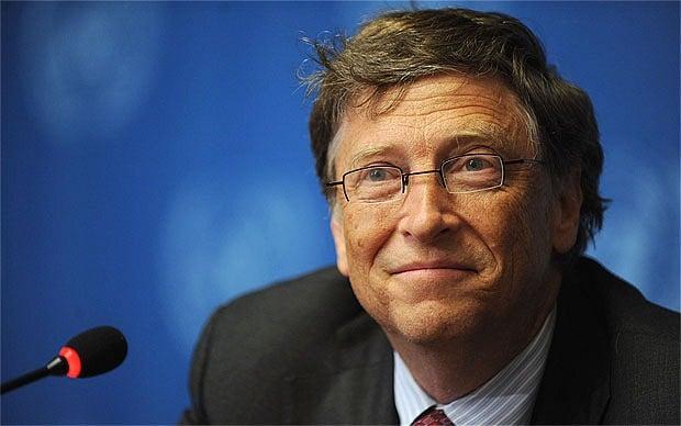Bill Gates is worth an estimated $81.5 billion