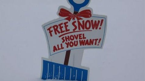 NOAA says there won't be a lot of free snow this winter (PHOTO: KHQ Viewer Jim in Spokane)