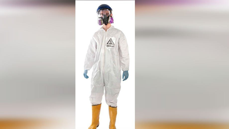This Ebola haz-mat suit can be purchased from BrandsOnSale.com for $79.99 (PHOTO: BrandsOnSale.com)