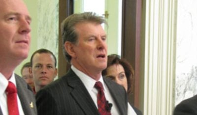 Butch Otter says he'll focus on job creation and education if re-elected