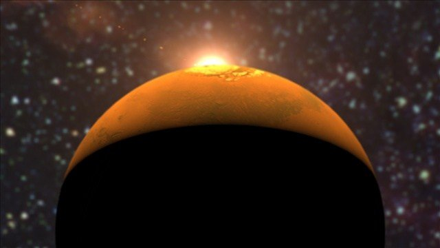 The comet Siding Spring passed dangerously close to Mars this morning.