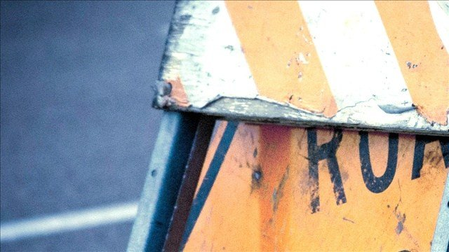 The county hopes to be done with The Bruce Road construction project by Friday.