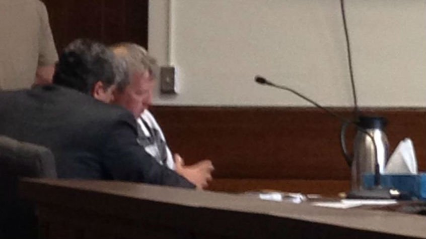 Dr. Craig Morgenstern sits in court on Thursday facing new charges of Possession of Child Pornography