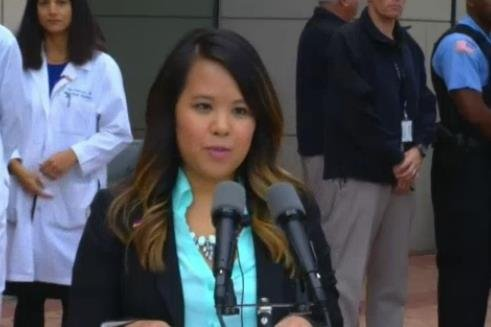 Nina Pham is now Ebola Free and was discharged from the hospital on Friday, October 24th