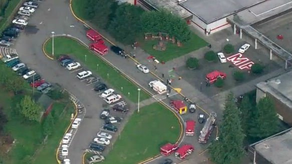 Three of the students wounded in a deadly school shooting in Marysville, Wash remain in critical condition Saturday (Photo: NBC)