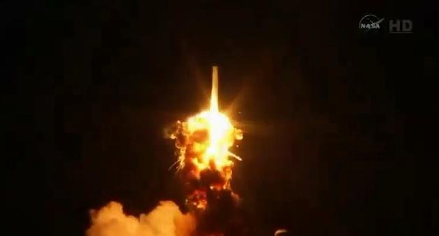 A commercial supply ship bound for the International Space Station has exploded moments after liftoff.