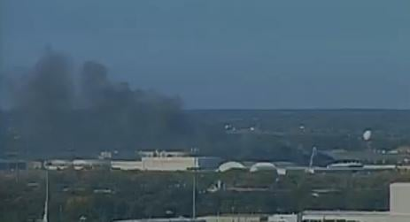 A plane crashed at the Wichita Airport Thursday morning