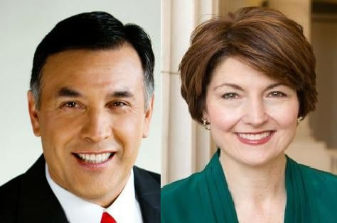 Joe Pakootas and Cathy McMorris Rodgers will debate in Spokane Thursday night at The Lincoln Center