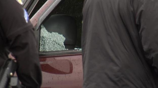 A drive-by shooting happened at Value Village on Monday morning just before 9am.