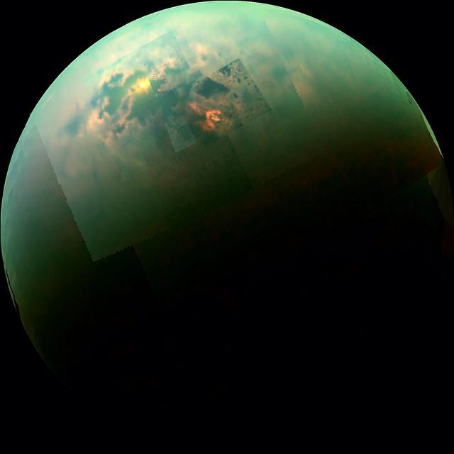 Full size version of Titan (PHOTO: NASA/JPL-Caltech/University of Arizona/University of Idaho)