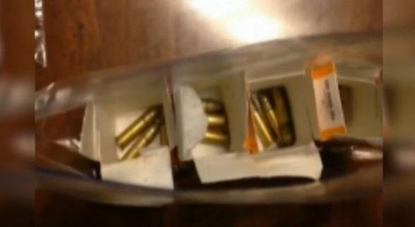 Three bullets in each box were found inside one boy's Halloween candy in Ohio.
