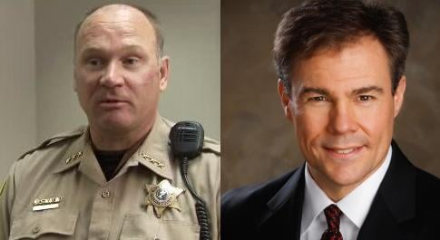 Sheriff Ozzie Knezovich faces challenger Doug Orr in the 2014 mid-term elections