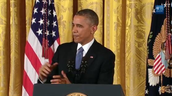 President Obama addresses the nation